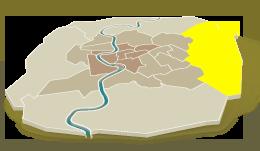 Est – grotendeels woonwijken