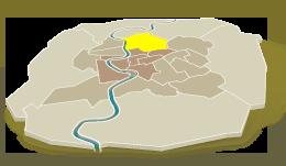 Pinciano/Parioli – la cour de récréation la plus verte de Rome