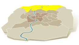 Nord - northern suburbs