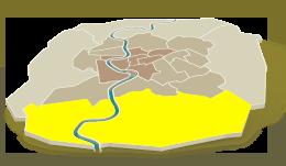 Sud - der einzige Weg aus der Stadt heraus